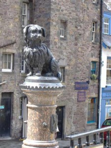 Statue of Greyfriars Bobby, Edinburgh, Scotland