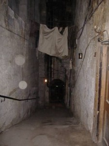 Mary Kings Close - notice the prominent orbs
