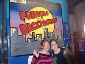 Elysha & I at the hostel