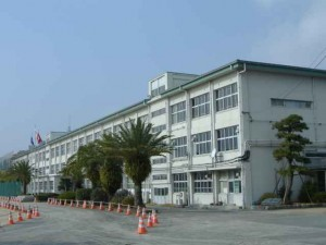 My old highschool, Kurume Koutou Gakkou