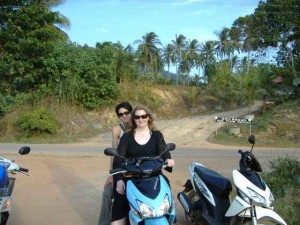 Matt & I on my bike
