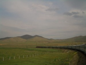 The Trans-Mongolian Train