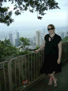 Me, at the top of the peak