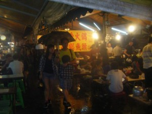 "One of Khaosiung's night markets - this one is considered the ""locals"" night market, with plenty to see and eat."